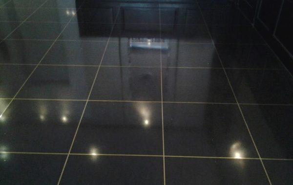 Terrazzo Floor Replace and Polish